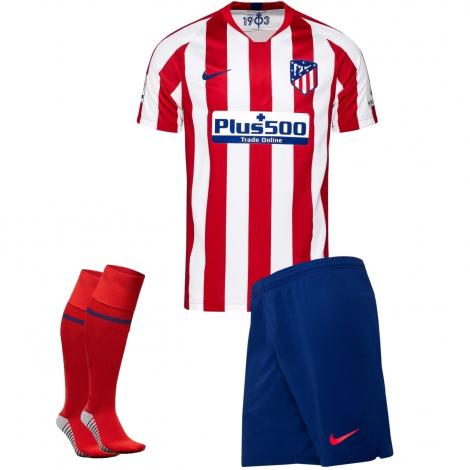 Домашняя форма Атлетико Мадрид сезон 19/20 (футболка+шорты+гетры)
