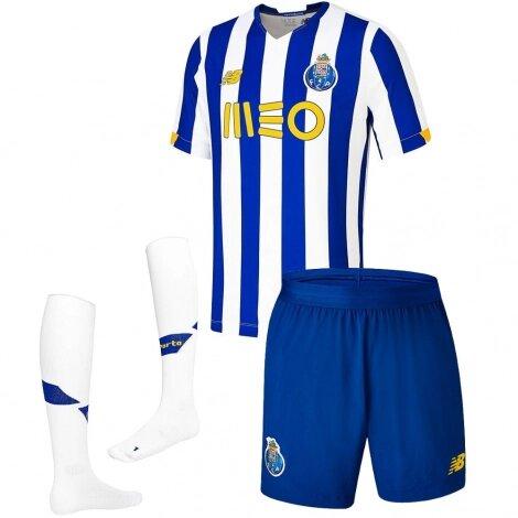 Домашняя детская форма Порту сезон 2020-2021 (футболка + шорты + гетры)