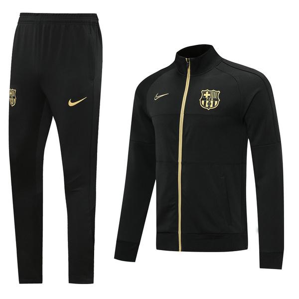Барселона Спортивный костюм черный 2020-2021
