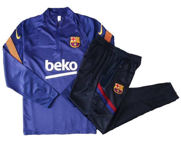 Барселона Детский тренировочный костюм 2020-2021